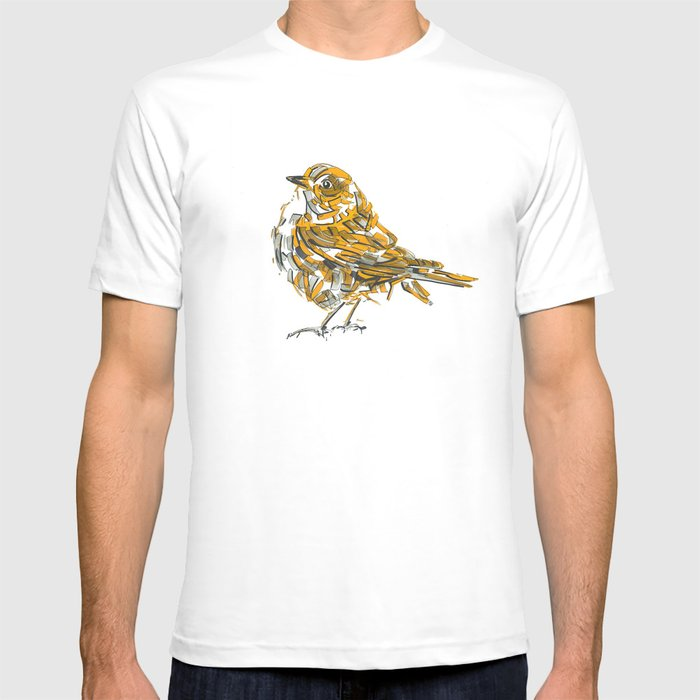 Yellow bird T-shirt