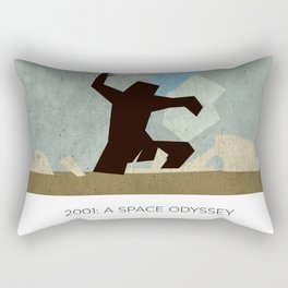 Minimalist 2001: A space odyssey (2) Rectangular Pillow