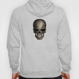 Decorated Dark Day of the Dead Sugar Skull Hoody