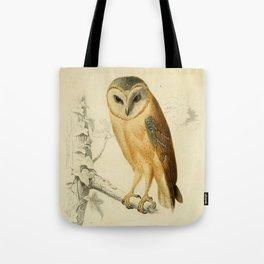 Naturalist Barn Owl Tote Bag