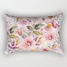 Late Summer Garden Rectangular Pillow