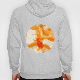 Orange Fish Hoody