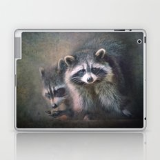 The two Raccoons.. Laptop & iPad Skin