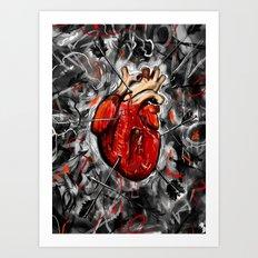 Heart & Arrows Art Print