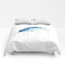 Narwhal - Unicorn of the Sea Comforters