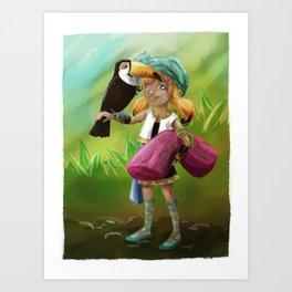 Toucan Toco Art Print