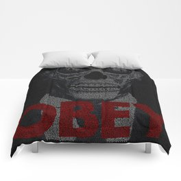 They Live. Obey. Screenplay Print. Comforters