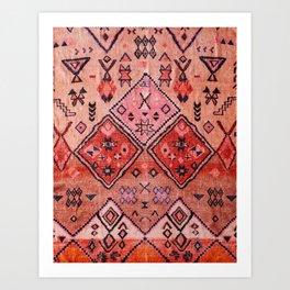 Epic Rustic & Farmhouse Style Original Moroccan Artwork  Art Print