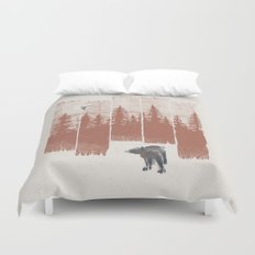 A Bear in the Wild... Duvet Cover