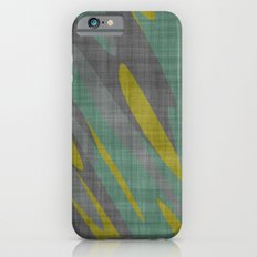 Yellow Gray and Green Slim Case iPhone 6s