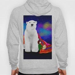 Fary tale White Bear Hoody
