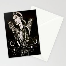 Black (Wings/Angel) Stationery Cards
