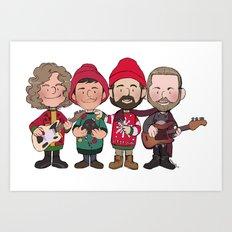 A Killers Holiday Art Print