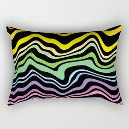 Tasting the rainbow Rectangular Pillow