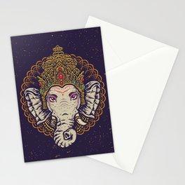 Ganesha Mandala Stationery Cards