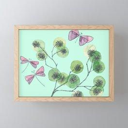 a touch of summer fragrance Framed Mini Art Print