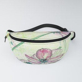 Blossoms and Air Fanny Pack