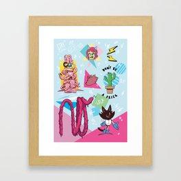 Swidan Framed Art Print