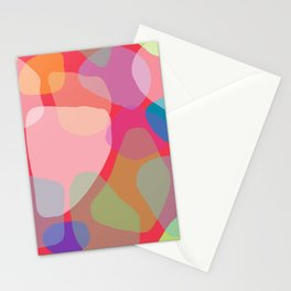 color theory block overlay Stationery Cards
