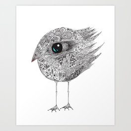 bird two Art Print