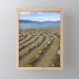 Lands end San Francisco golden gate Framed Mini Art Print