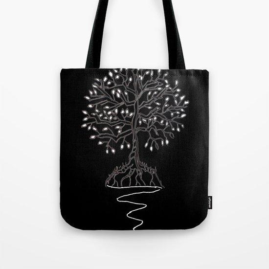 Tree of Life Light Tote Bag