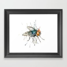 I said the fly Framed Art Print