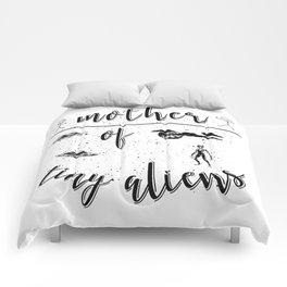 Mother Mothers Day Present Alien Children Comforters