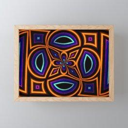 Cross My Heart Framed Mini Art Print