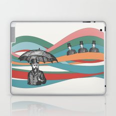 Riding the Waves Laptop & iPad Skin