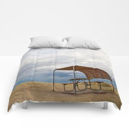 Badlands Picnic Table  Comforters