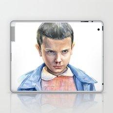 Eleven Stranger Things Watercolor Portrait Laptop & iPad Skin