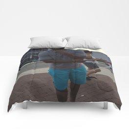 The artist Comforters