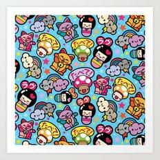 Harajuku Love Art Print