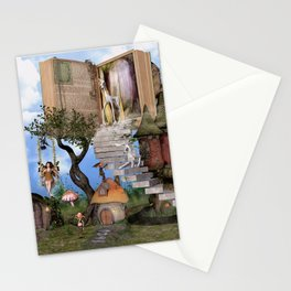Bringing stories to life Stationery Cards