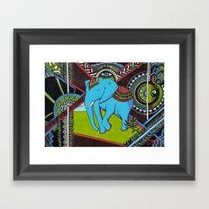 Elephant's sense Framed Art Print