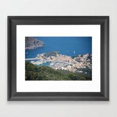 Majorca Mountain View Framed Art Print