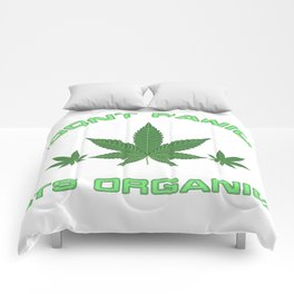 Its Organic Marijuana Leaf Trio Comforters