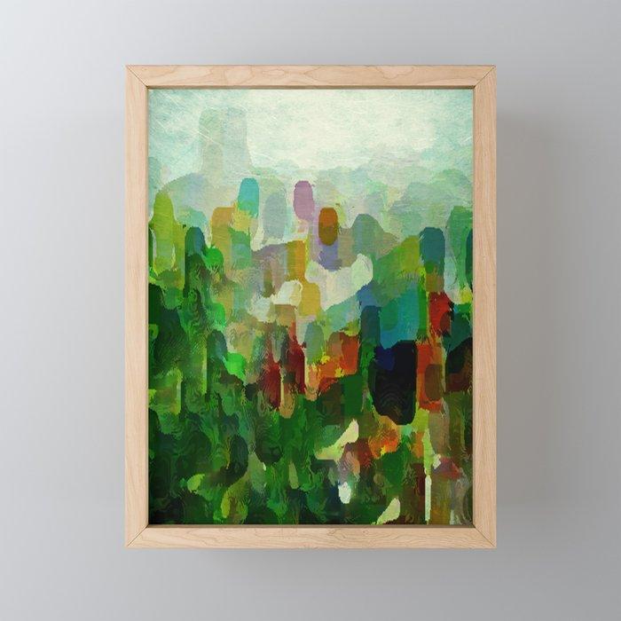 City Park Framed Mini Art Print