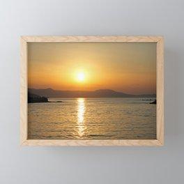 summer feeling Framed Mini Art Print