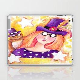 Steampunk Girl Laptop & iPad Skin