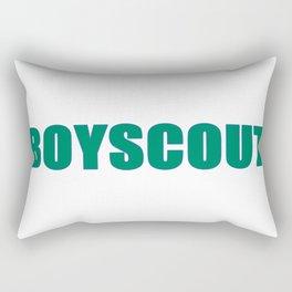 BOYSCOUT BY ROBERT DALLAS Rectangular Pillow