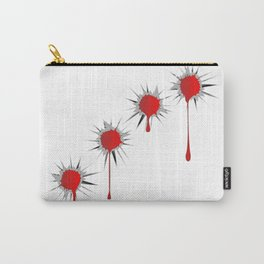 Blooded Bullet Holes Carry-All Pouch