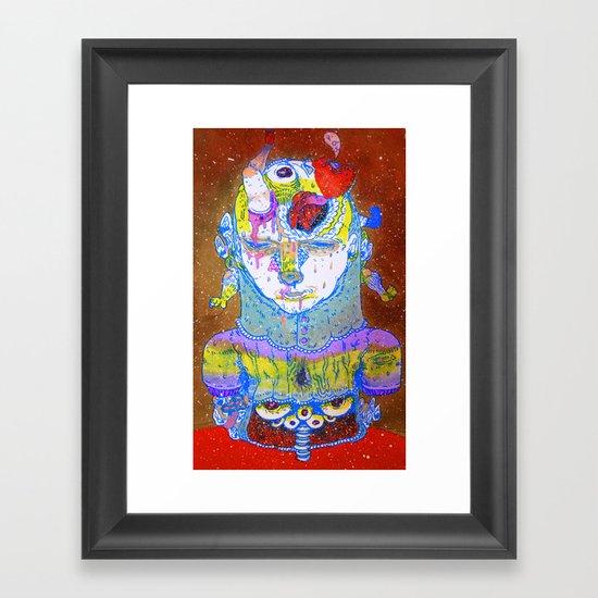 inside space Framed Art Print