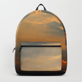 Sunset 032719 Caps, Texas Backpack