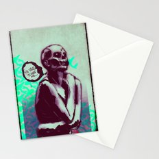 Desperate Zombie Stationery Cards