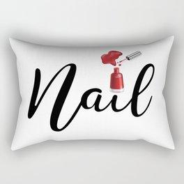 Nail Rectangular Pillow