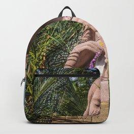 Garden Statue Backpack