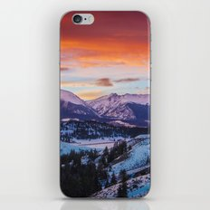 Paint the Sky iPhone & iPod Skin