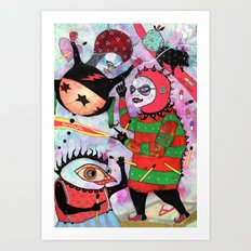 High We Are Art Print